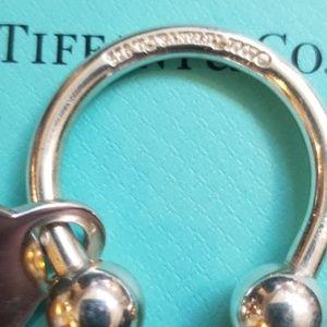 Authentic Tiffany & Co 925 Tag Charm Key Fob 21.9g